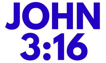 john 3.16